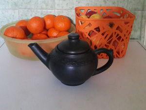 Отдам чайник глиняный с дефектом. Москва, самовывоз | Ярмарка Мастеров - ручная работа, handmade
