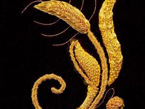 Шикарные вышивки золотом от Лондонского клуба вышивки и Bella Lane. Ярмарка Мастеров - ручная работа, handmade.