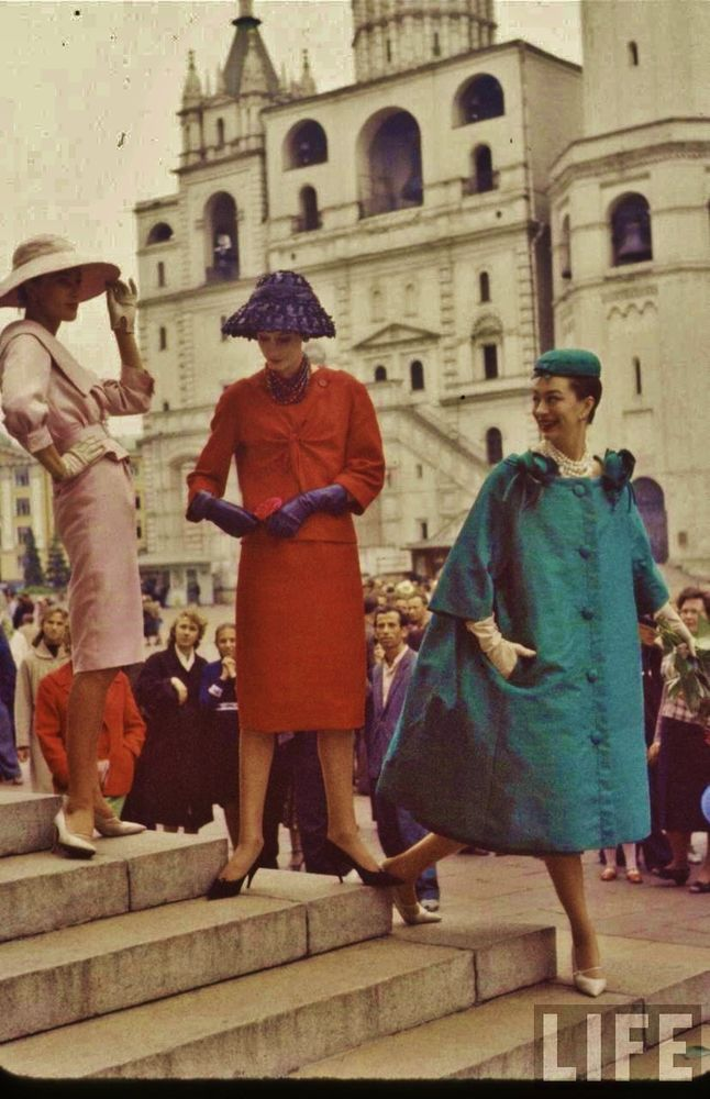 «Послы элегантности» в СССР 1959-го года. Легендарный показ мод и фотосессия в журнале «Life»