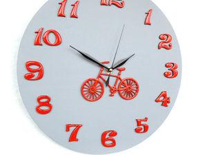 Новинка! Детские часы Оранжевый велосипед!. Ярмарка Мастеров - ручная работа, handmade.