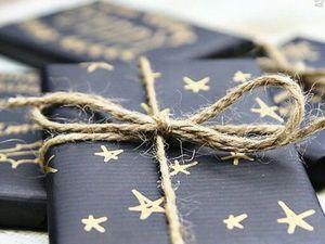 Новогодняя упаковка подарков для мужчин: идеи для вдохновения. Ярмарка Мастеров - ручная работа, handmade.