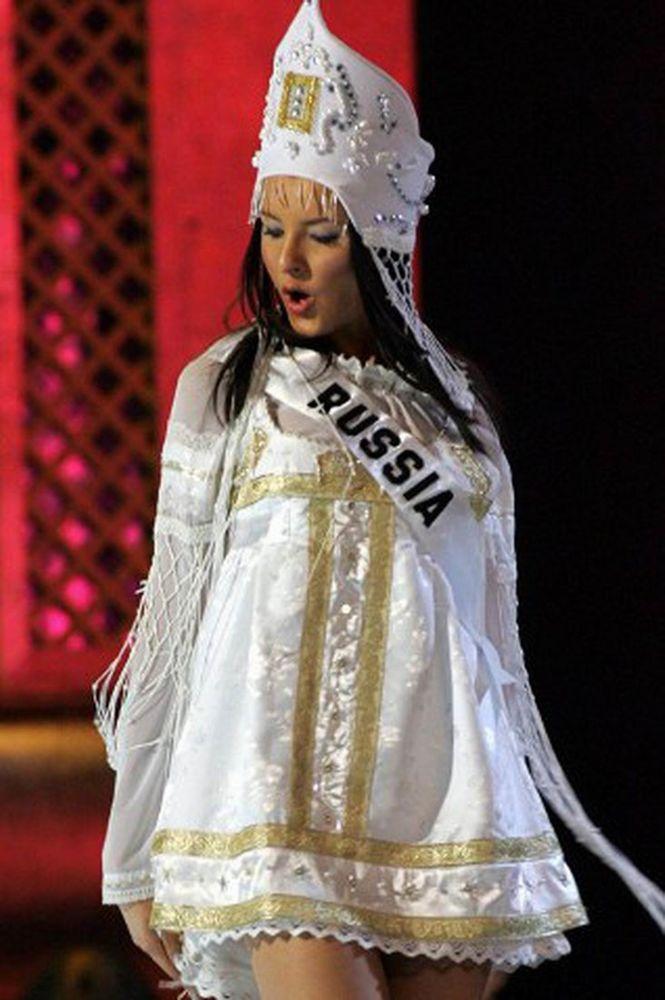 Конкурс красоты русский национальный костюм