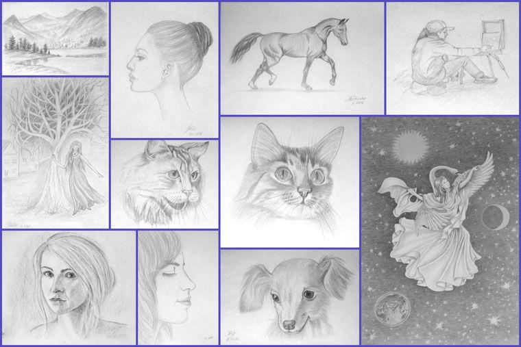 живопись, творчество, обучение живописи