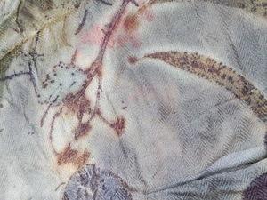 Кашемир, как божественно он окрашивается растениями!. Ярмарка Мастеров - ручная работа, handmade.