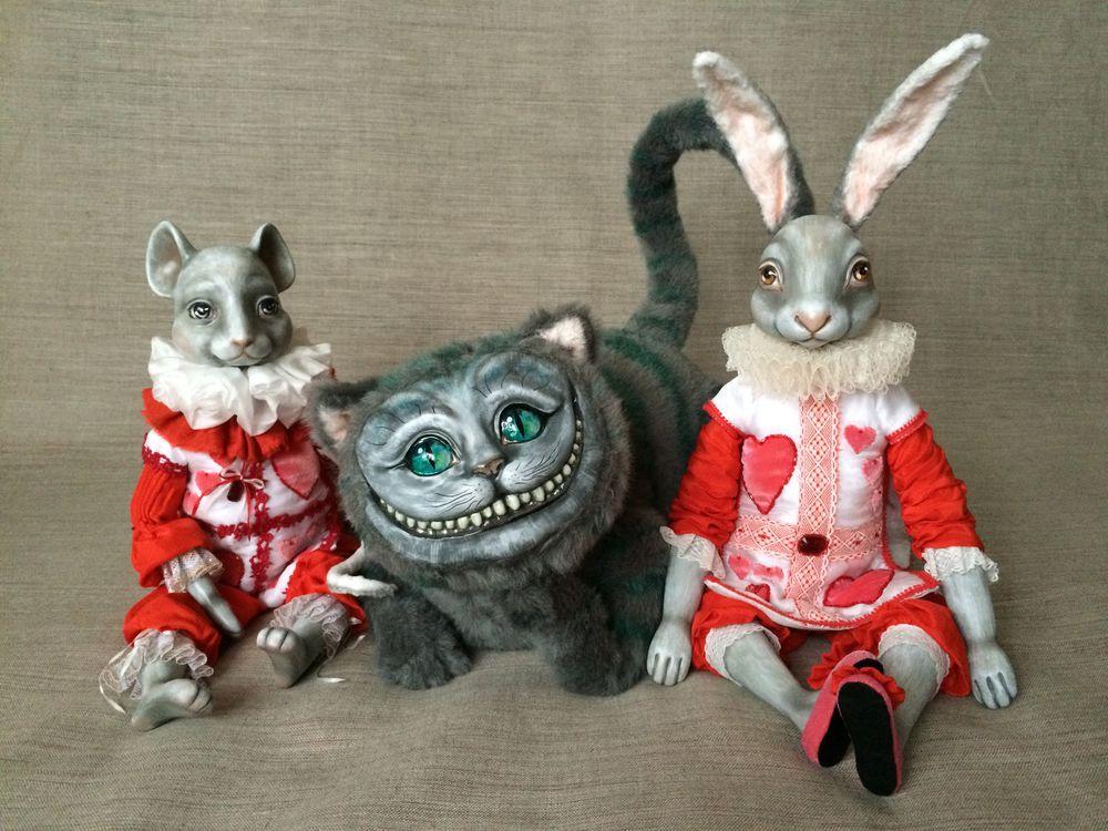 выставка, чеширский кот