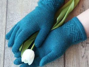 """Перчатки """"Ёлка"""", галерея воплощений. Ярмарка Мастеров - ручная работа, handmade."""