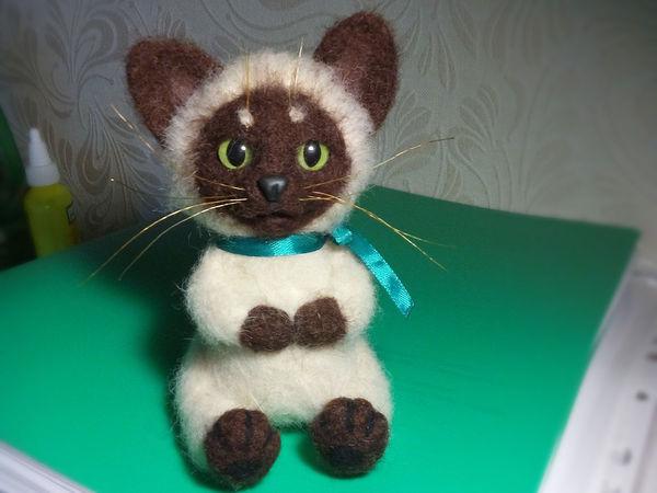 Котёнок Симочка | Ярмарка Мастеров - ручная работа, handmade