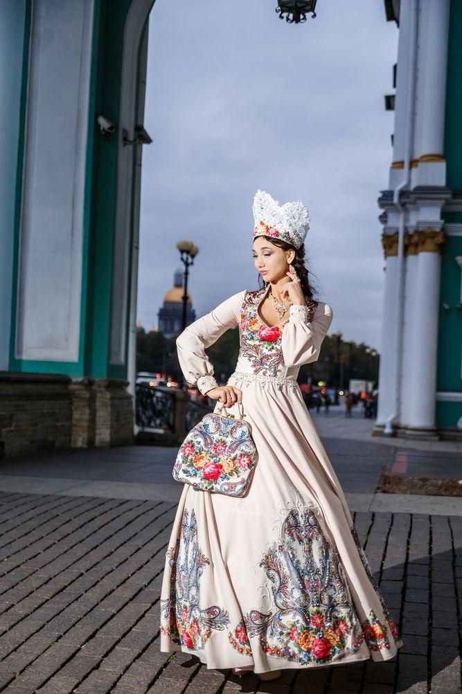 русский стиль, русская мода