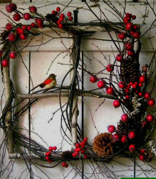 Декор из веток дерева своими руками фото 181