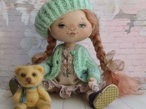 Новая девочка - Весна | Ярмарка Мастеров - ручная работа, handmade