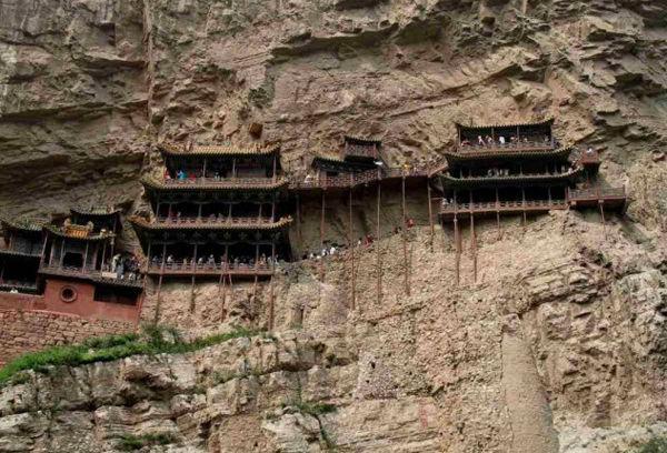 Монастырь Xuan Kong (Китай)