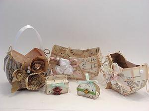 How to Make a Vintage Easter Basket. Livemaster - handmade