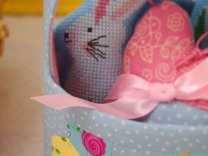 Мои Весенние зайчата   Ярмарка Мастеров - ручная работа, handmade
