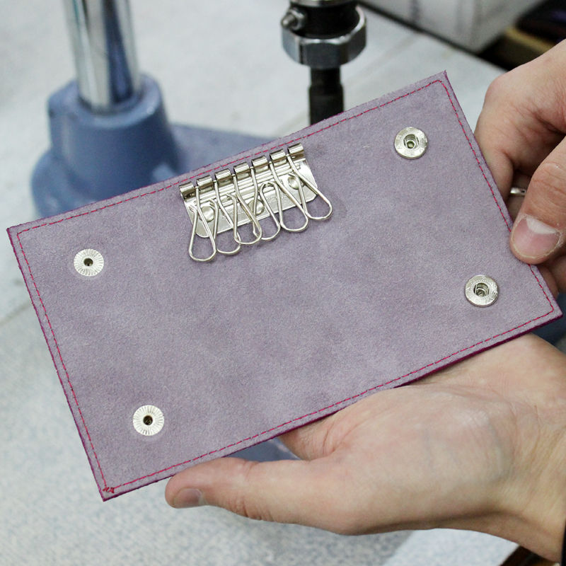 Tutorial on Making a Leather Key Bag, фото № 24