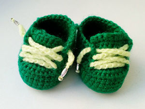 Вяжем ботиночки для куклы. Ярмарка Мастеров - ручная работа, handmade.