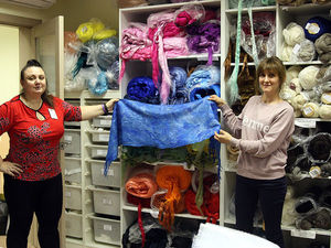 Фотоотчет о мастер-классе Любови Егоровой по валянию мужских шарфов. Ярмарка Мастеров - ручная работа, handmade.