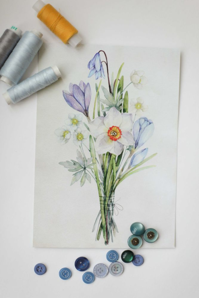 весна, открытка, упаковка