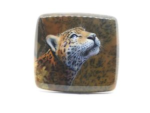 Аукцион. Леопард на моховом агате. Ярмарка Мастеров - ручная работа, handmade.