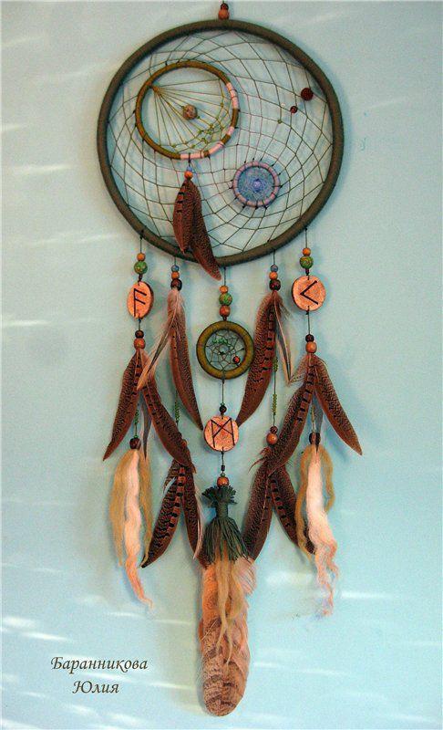 местер-класс, перья, талисман, dreamcatcher