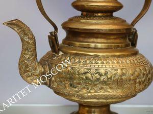 РАРИТЕТИЩЕ Чайник антикварный бронза латунь 19век 3. Ярмарка Мастеров - ручная работа, handmade.