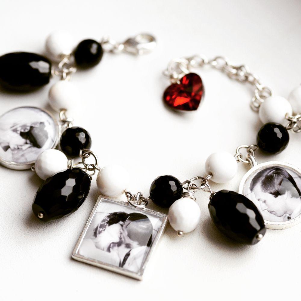 оригинальное украшение, браслеты с фотографиями, фотобраслет, фотоподарок