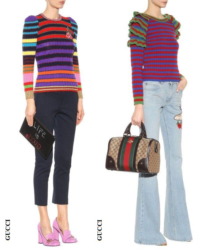 обзор вязаной моды