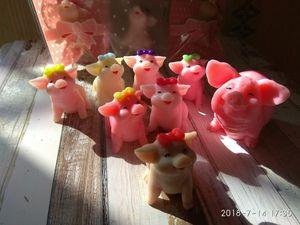 Мыло ручной работы Свинка мини 5+2. Ярмарка Мастеров - ручная работа, handmade.