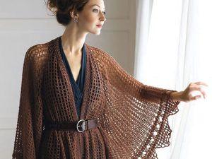 Очарование шали: роскошные, изящные и стильные модели. Ярмарка Мастеров - ручная работа, handmade.
