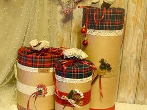 Создаем оригинальную коробку для рождественского подарка. Ярмарка Мастеров - ручная работа, handmade.