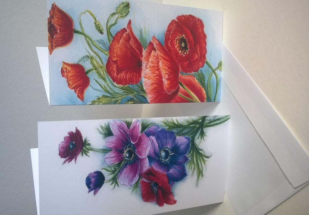 открытки с цветами, открытки ручной работы, открытки на день рождения