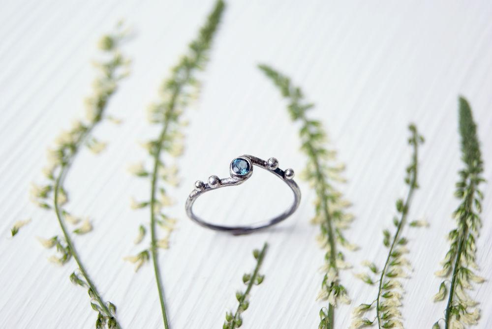 кольца с камнями, украшения серебро