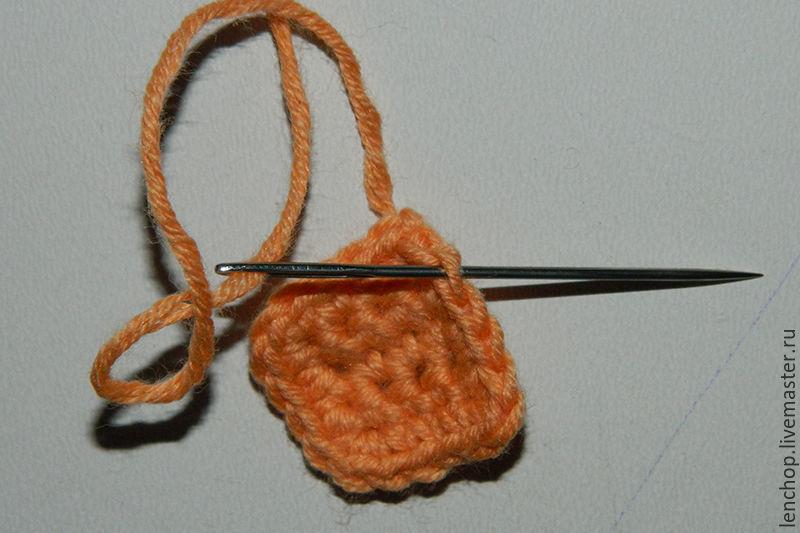 кубик описание вязания