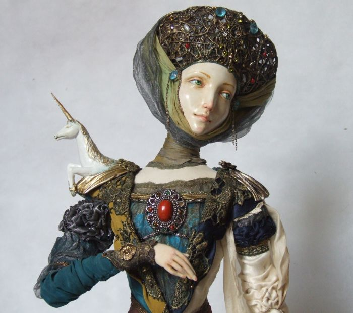 dolls made of wood