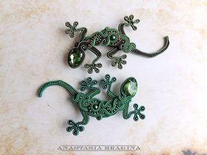 Скидка на ящерок!. Ярмарка Мастеров - ручная работа, handmade.
