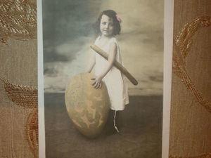 Дети на антикварных открытках.. Ярмарка Мастеров - ручная работа, handmade.