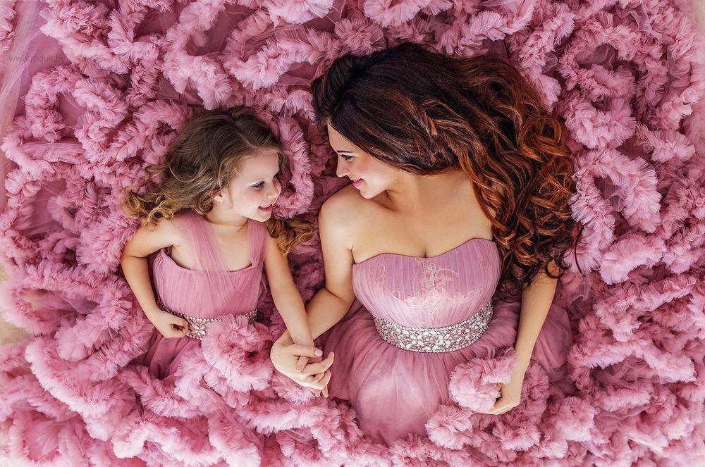 красивые картинки про дочь и мать самый большой