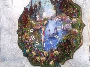 Пейзажные часы 2. Ярмарка Мастеров - ручная работа, handmade.