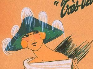 ��, ����� ������! ������� ���� 1922 ���� �� ������ ������������ ������� �Les chapeaux du Tres parisien�. ����� 2 | ������� �������� - ������ ������, handmade