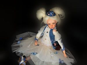 Интерьерная кукла. Ярмарка Мастеров - ручная работа, handmade.