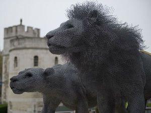 «Зоопарк» из проволоки от британского скульптора Kendra Haste. Ярмарка Мастеров - ручная работа, handmade.