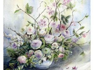 Кто-то готовится к Новому Году, а у меня цветочки.... Ярмарка Мастеров - ручная работа, handmade.
