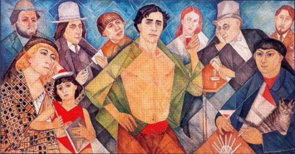 модильяни, художник, картины