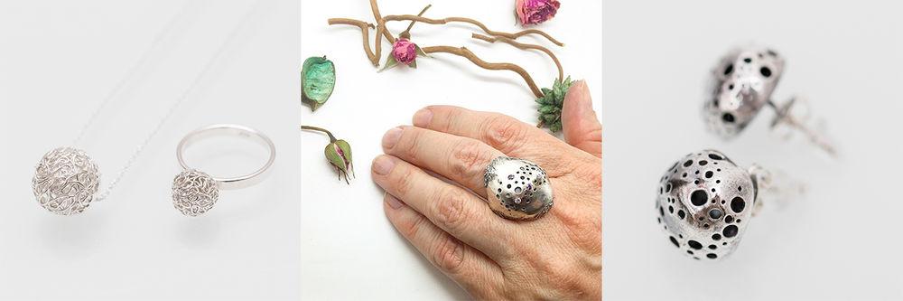 металлическая глина, серебро 999