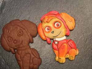 Изготавливаем пряничного щенка «Скай» из  мультфильма «Щенячий Патруль». Ярмарка Мастеров - ручная работа, handmade.