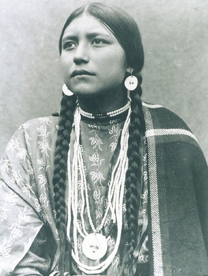 What the Indigenous Women of North America Looked Like: Vintage Photos of Indian Girls, фото № 6