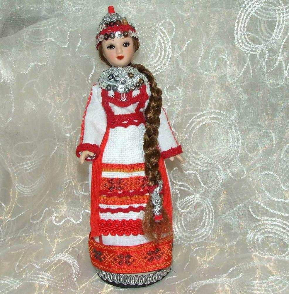 Чувашский народный костюм своими руками 64