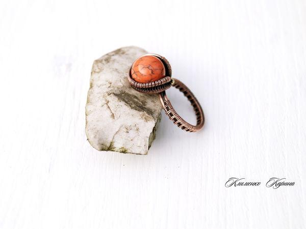 Мастер-класс по технике Wire Wrap.Изготовление кольца. | Ярмарка Мастеров - ручная работа, handmade