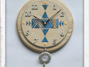 Мастерим часы «Ветер странствий» в детскую. Ярмарка Мастеров - ручная работа, handmade.