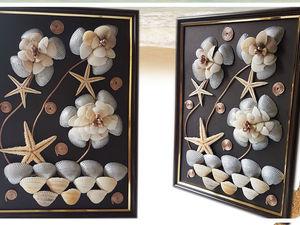 Создаём лёгкий в изготовлении декор из ракушек. Ярмарка Мастеров - ручная работа, handmade.