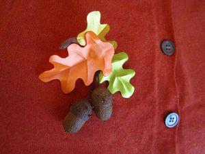 Желуди из коконов шелкопряда. Ярмарка Мастеров - ручная работа, handmade.